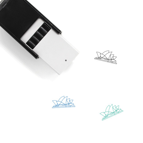 Opera House Self-Inking Rubber Stamp No. 9