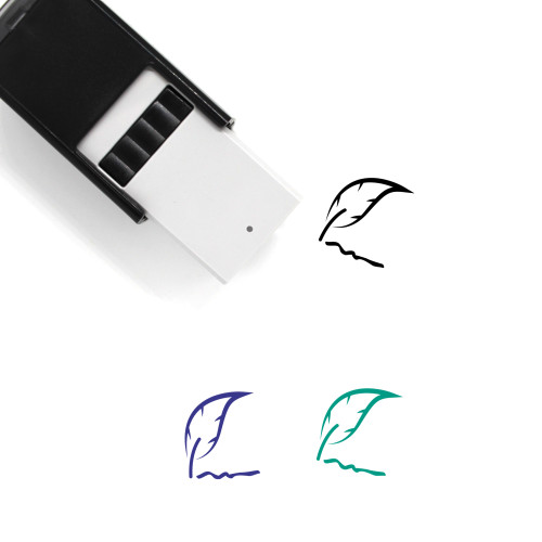 Signature Self-Inking Rubber Stamp No. 7