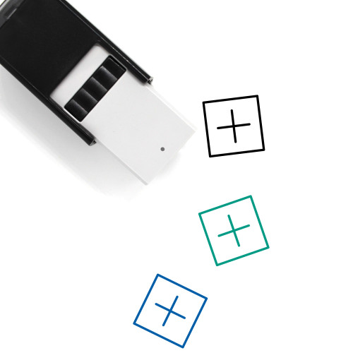 Add Self-Inking Rubber Stamp No. 58