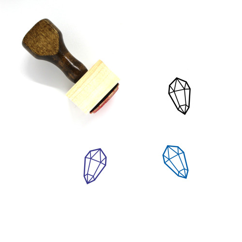 Crystal Wooden Rubber Stamp No. 3