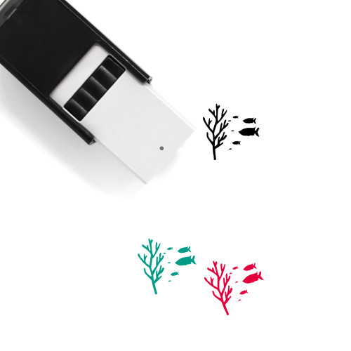 Coral Reef Self-Inking Rubber Stamp No. 2