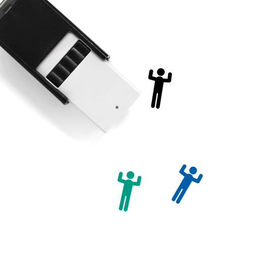 Human Self-Inking Rubber Stamp No. 188