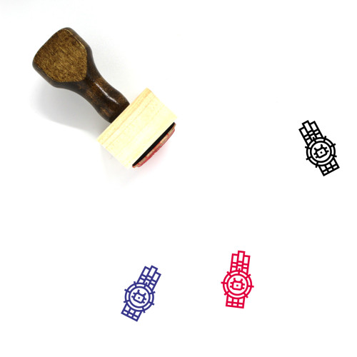 Wharf Wooden Rubber Stamp No. 1
