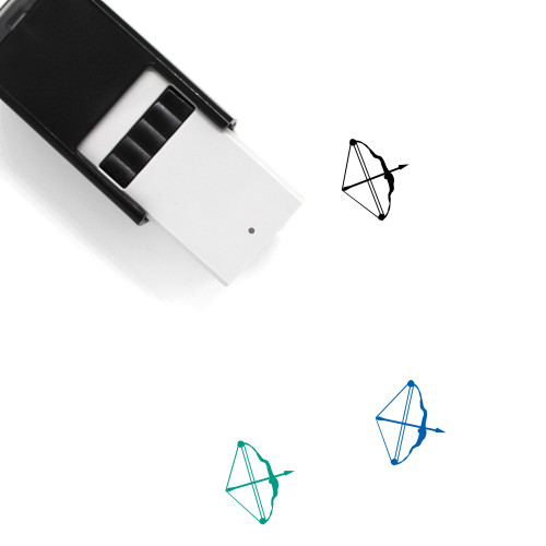 Bow And Arrow Self-Inking Rubber Stamp No. 24