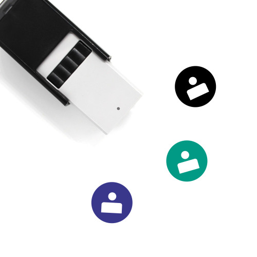 User Profile Self-Inking Rubber Stamp No. 74