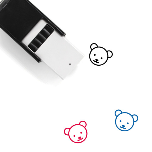 Bear Self-Inking Rubber Stamp No. 41