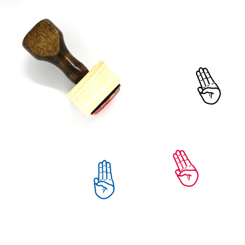 Scouts Honor Wooden Rubber Stamp No. 2