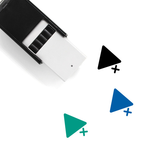 Add To Playlist Self-Inking Rubber Stamp No. 3