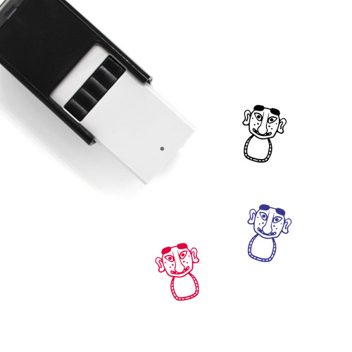 Servant Mask Self-Inking Rubber Stamp No. 1