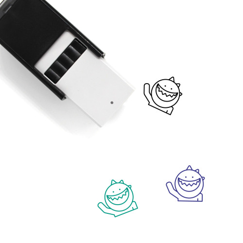 Hello Self-Inking Rubber Stamp No. 15