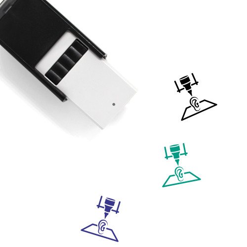 3D Organ Printing Self-Inking Rubber Stamp No. 7