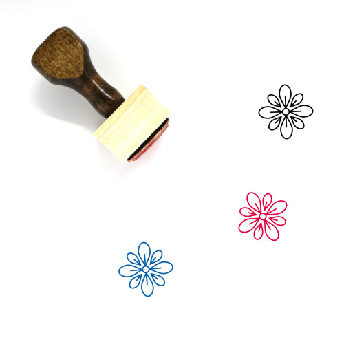 Celebrate Wooden Rubber Stamp No. 18