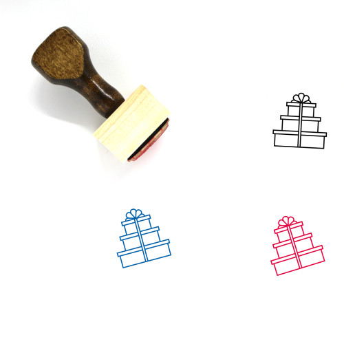 Gifts Wooden Rubber Stamp No. 12