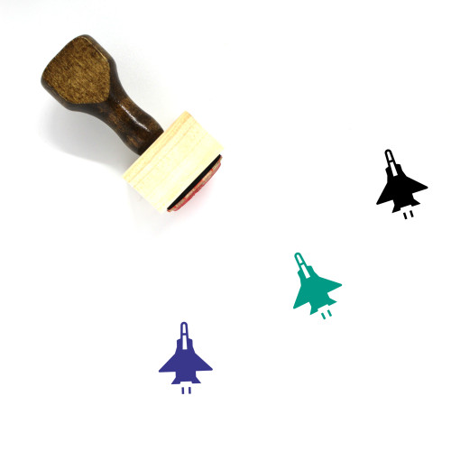 Aircraft Wooden Rubber Stamp No. 51