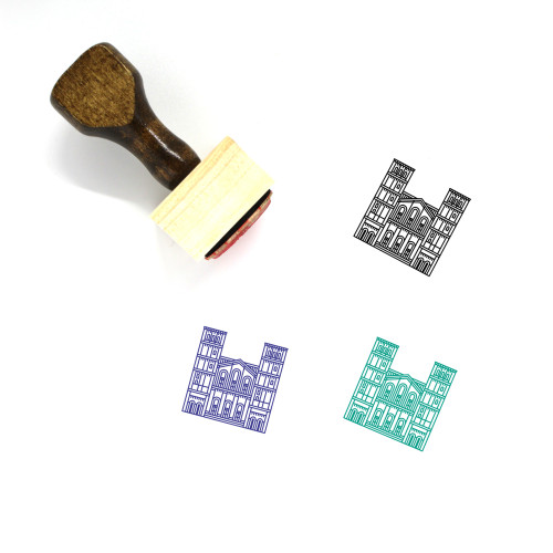 University Of California Los Angeles Wooden Rubber Stamp No. 1