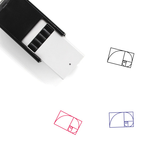 Golden Ratio Self-Inking Rubber Stamp No. 1
