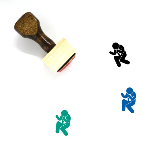 Success Wooden Rubber Stamp No. 25