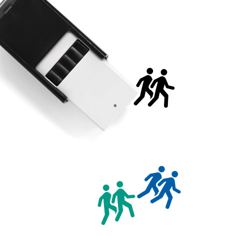 Follow Self-Inking Rubber Stamp No. 8