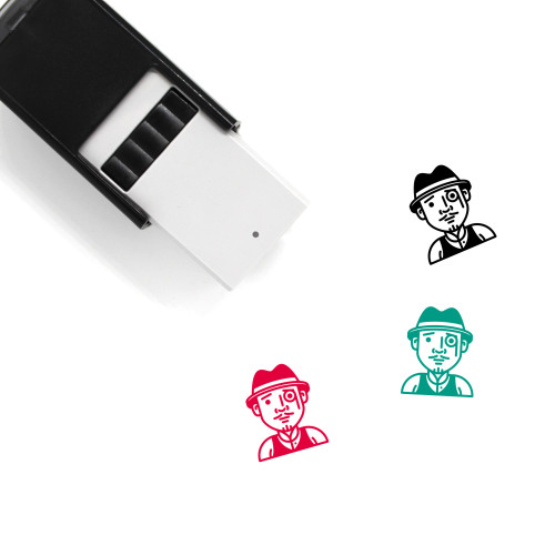 Detective Self-Inking Rubber Stamp No. 15