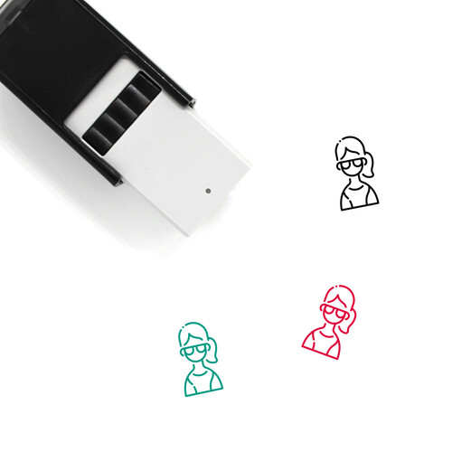 Avatar Female Self-Inking Rubber Stamp No. 5