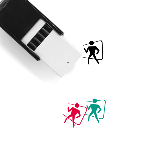 Exit Self-Inking Rubber Stamp No. 37