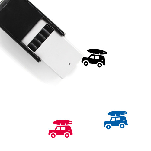 Jeep Self-Inking Rubber Stamp No. 4