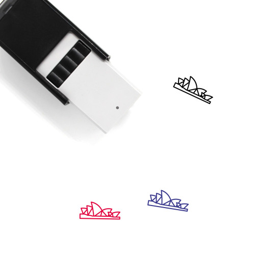 Sydney Opera House Self-Inking Rubber Stamp No. 18