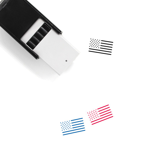 USA Self-Inking Rubber Stamp No. 22