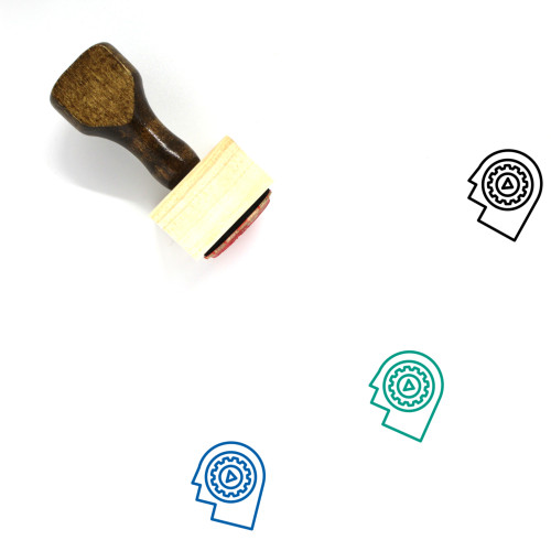 Behavior Wooden Rubber Stamp No. 2