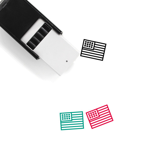 USA Self-Inking Rubber Stamp No. 23