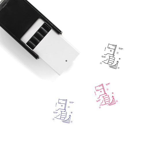 Achievement Self-Inking Rubber Stamp No. 54
