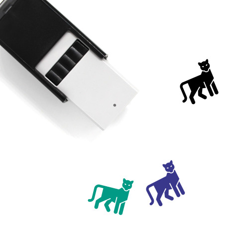 Panther Self-Inking Rubber Stamp No. 7