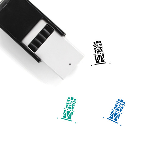 Statue Self-Inking Rubber Stamp No. 17