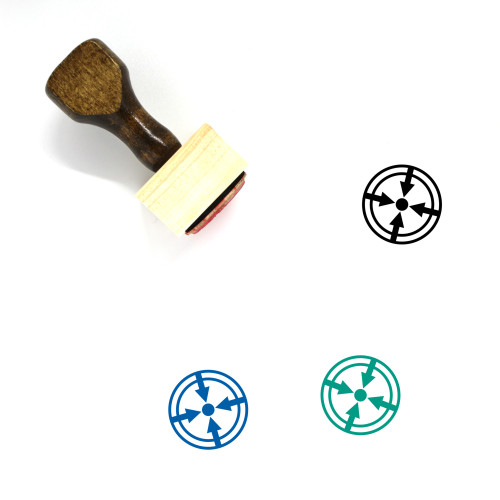 Aim Wooden Rubber Stamp No. 27