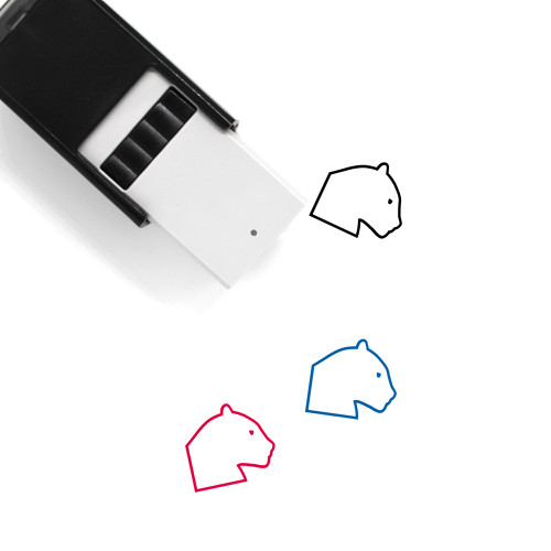 Panther Self-Inking Rubber Stamp No. 8