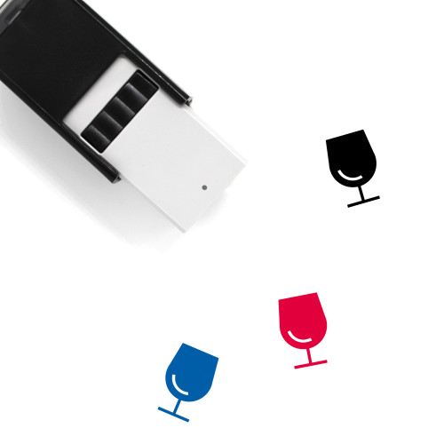 Alcohol Self-Inking Rubber Stamp No. 19