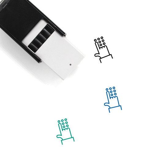 Account Self-Inking Rubber Stamp No. 64