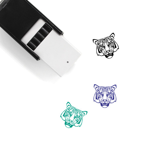 Tiger Self-Inking Rubber Stamp No. 9