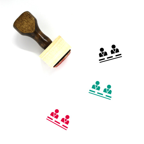 Developers Wooden Rubber Stamp No. 4