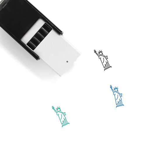 Statue Of Liberty Self-Inking Rubber Stamp No. 41