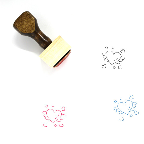 Loving Wooden Rubber Stamp No. 2