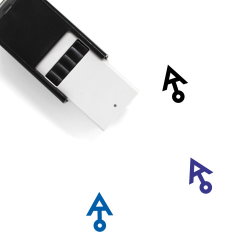 Ariel Self-Inking Rubber Stamp No. 1