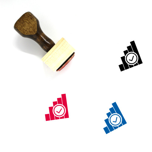 Network Available Wooden Rubber Stamp No. 1