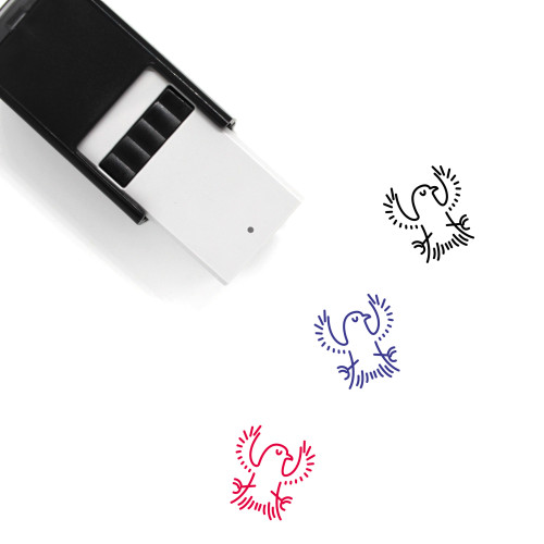 Raven Self-Inking Rubber Stamp No. 4