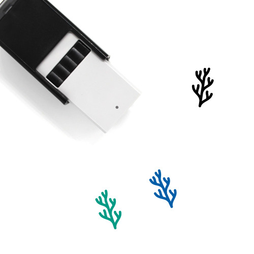Algae Self-Inking Rubber Stamp No. 1