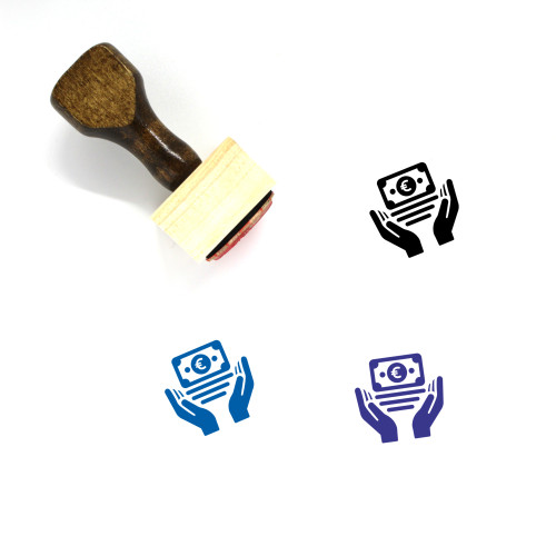 Secure Payment Wooden Rubber Stamp No. 14