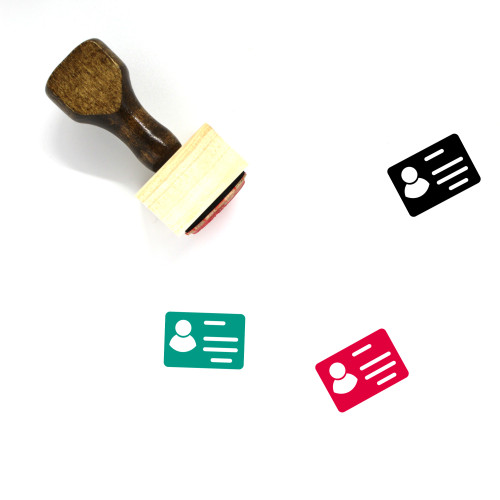 Account Wooden Rubber Stamp No. 70