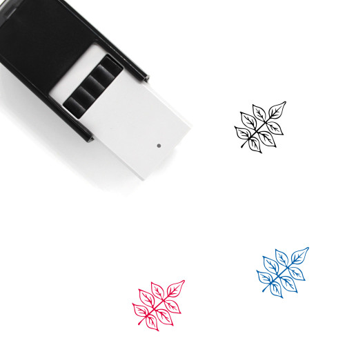 Ash Leaves Self-Inking Rubber Stamp No. 1