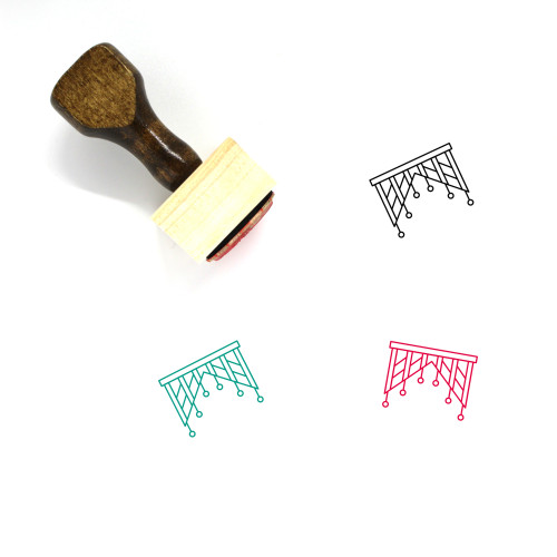 Decoration Wooden Rubber Stamp No. 114