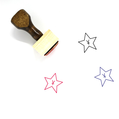 Award Wooden Rubber Stamp No. 102